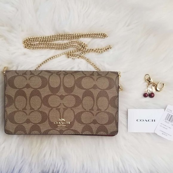 COACH | Crossbody Clutch with charms